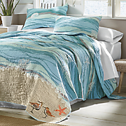 melbourne oversized quilt and sham