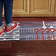 flatware floor mat   20  x 39