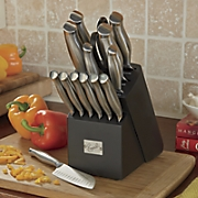 15 pc  stainless steel cutlery set by emeril