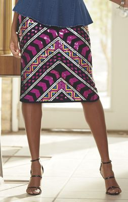 Zaira Embellished Skirt