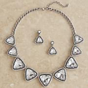 peridot jewelry set
