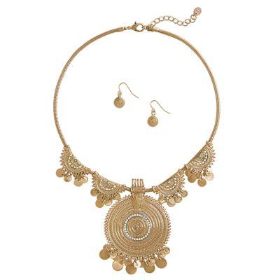 Nubian Jewelry Set