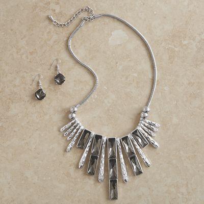 Pebble Jewelry Set