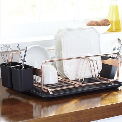 Coppertone Dish Rack