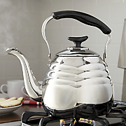 3 qt  stainless steel portobello tea kettle by ginny s