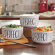 set of 3 dip bowls with lids