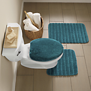 3 pc  palisade bath mat set by mohawk