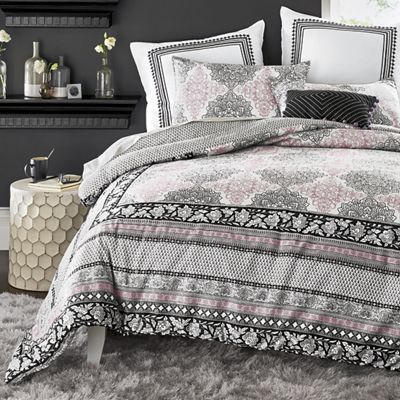 Asana Mini Comforter Set, Euro Sham and Decorative Pillow by Jessica Simpson