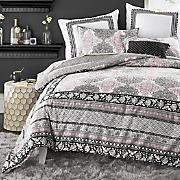 asana mini comforter set  euro sham and decorative pillow by jessica simpson
