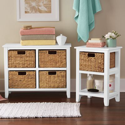 Wicker Basket Table or Chest