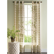 frampton sheer grommet panel pair