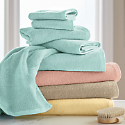 bountiful 6 pc bath towel set