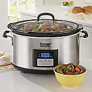 8 5 qt  slow cooker by montgomery ward