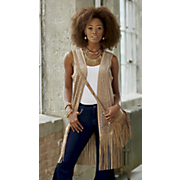 careen fringe vest 34