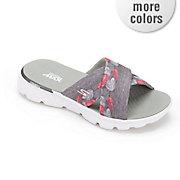 women s on the go tropical slide sandal by skechers