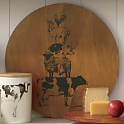 stacked animals lazy susan