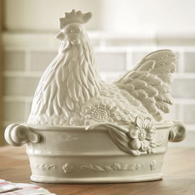 Rooster Dish by Fitz & Floyd