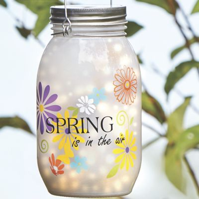 Spring Mason Jar