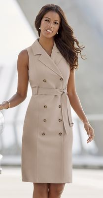 In The Trenches Dress/Vest