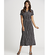 stripe duster dress 9