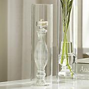 glass finial tealight holder