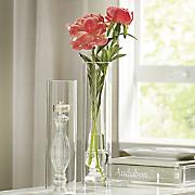 glass finial vase