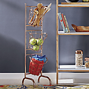 copper basket stand