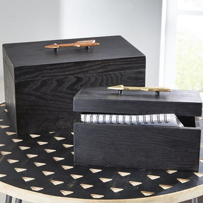Set of 2 Arrow Boxes