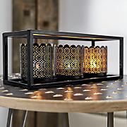 lace cut candleholder