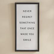 never regret something poster art