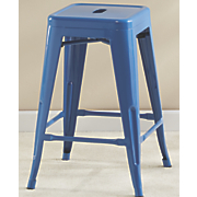 blue milk stool