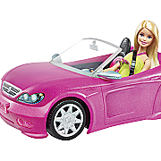 barbie glam convertible by mattel