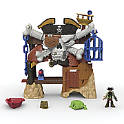 imaginext blackbeard s lair by fisher price