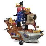 imaginext shark bite pirate ship by fisher price