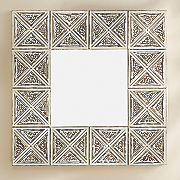 x framed mirror
