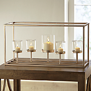 rose gold candleholder