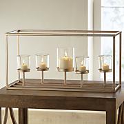 rose gold candleholder