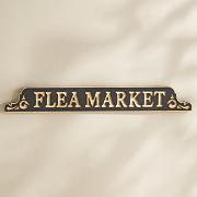 flea market sign