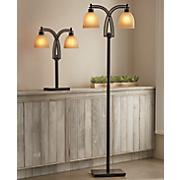 two bulb floor lamp
