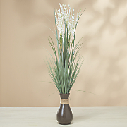 heather grass vase