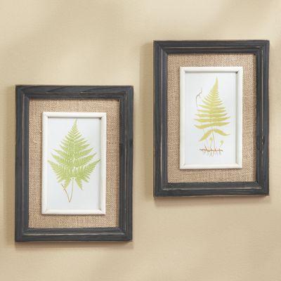 Set of 2 Botanical Fern Prints