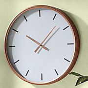 large coppertone clock