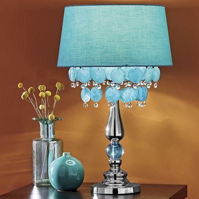 Capiz Shell Table Lamp