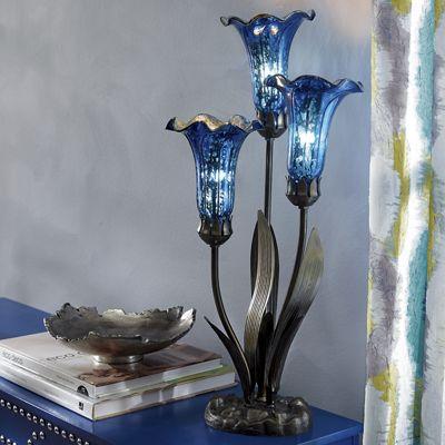 Color-Rich Lilies Lamp