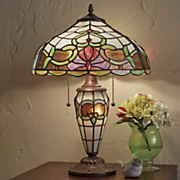 constance stained glass lamp