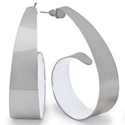 swirl epoxy earrings