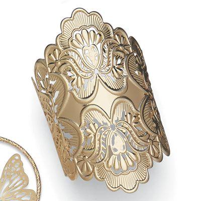 Scroll Cuff Bracelet