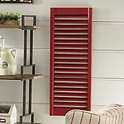 red window shutter