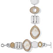 linear drop bracelet