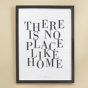 there is no place like home poster art